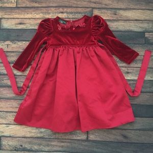 Biscotti Red Formal Dress